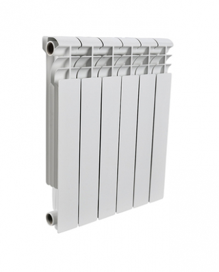 ROMMER PROFI BI350-80-80-130 8 секций радиатор биметалический (RAL9016)