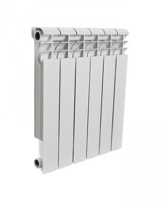ROMMER PROFI AL500-80-80-100 6 секции радиатор алюминиевый (RAL9016)